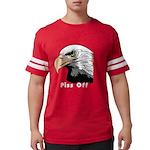 piss off black eagle copy.png Mens Football Shirt