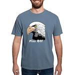 piss off black eagle cop Mens Comfort Colors Shirt