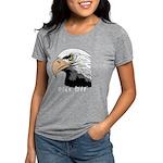 piss off black eagle copy Womens Tri-blend T-Shirt