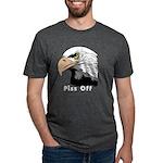 piss off black eagle copy.p Mens Tri-blend T-Shirt