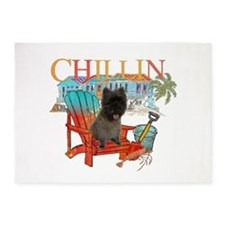 Cairn Terrier Chillin' 5'x7'Area Rug
