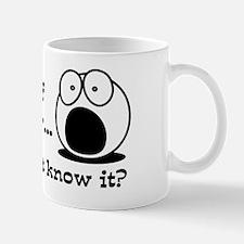 Cute Worried Mug