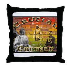 Crucial Culture Throw Pillow