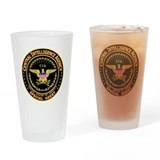 Central intelligence agency Pint Glasses