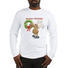 Merry Xmoose Long Sleeve T-Shirt