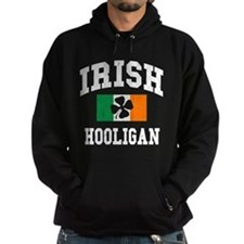 Irish Hooligan Distressed Hoodie