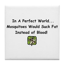 mosquitoes.png Tile Coaster