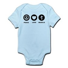 Bodybuilding Infant Bodysuit