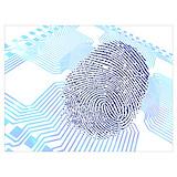 Biometric artwork Posters