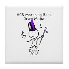 Drum Major - Derek Tile Coaster