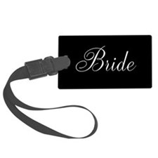 Bride and Groom Luggage Tag