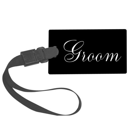 Bride and Groom Large Luggage Tag