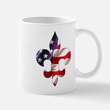 Flag Fleur de lis Mug