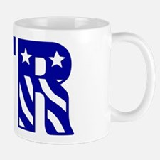 CTR Patriotic Blue Mug