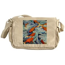 Fire Water Messenger Bag