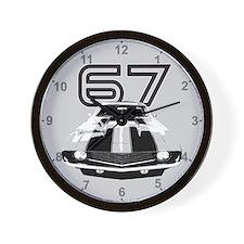Cute 1967 camaro Wall Clock