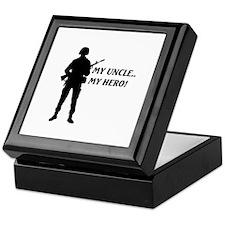 My Uncle, My Hero!... Keepsake Box