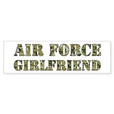 Camo Girlfriend Bumper Bumper Sticker
