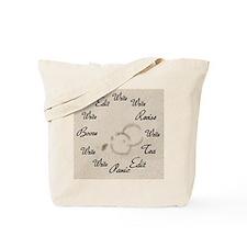 Writer's Clock Tote Bag