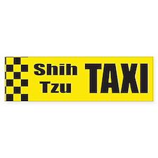 Shih Tzu Bumper Bumper Sticker