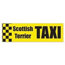 Scottish Terrier Bumper Bumper Sticker