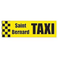 Saint Bernard Bumper Bumper Bumper Sticker
