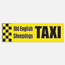 Old English Sheepdog Bumper Bumper Bumper Sticker