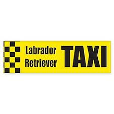 Labrador Retriever Bumper Bumper Sticker