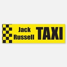 Jack Russell Bumper Bumper Bumper Sticker