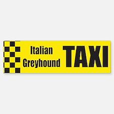 Italian Greyhound Bumper Bumper Bumper Sticker