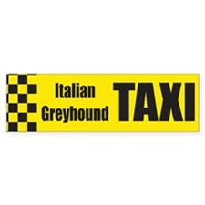 Italian Greyhound Bumper Bumper Sticker