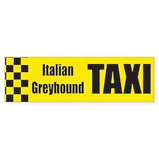 Italian Greyhound Bumper Bumper Sticker