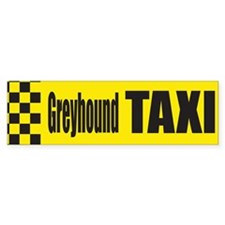 Greyhound Bumper Car Sticker