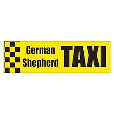 German Shepard Bumper Car Sticker