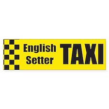 English Setter Bumper Bumper Sticker