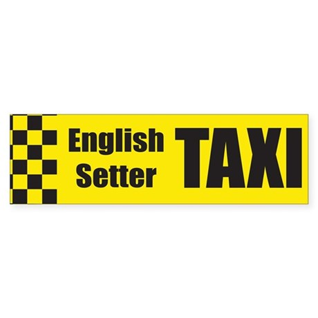 English Setter Bumper Sticker