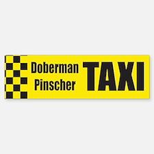 Doberman Pinscher Bumper Bumper Bumper Sticker