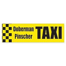 Doberman Pinscher Bumper Bumper Sticker