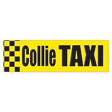 Collie Taxi Bumper Bumper Sticker