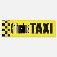 Chihuahua Taxi Bumper Bumper Bumper Sticker