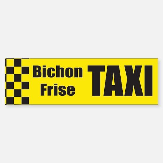 Bichon Frise Bumper Bumper Bumper Sticker