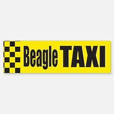 Beagle Taxi Bumper Bumper Bumper Sticker