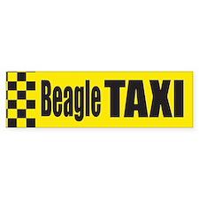 Beagle Taxi Bumper Bumper Sticker