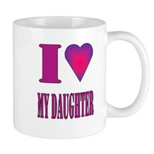 I heart daughter Mug