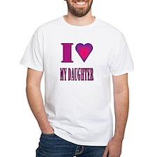 I heart daughter Shirt