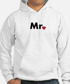 Mr and Mrs matching hats Hoodie