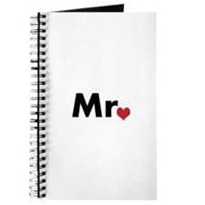 Mr and Mrs matching hats Journal
