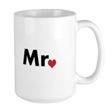 Mr and Mrs matching hats Mug