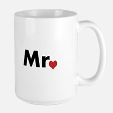 Mr and Mrs matching hats Mug