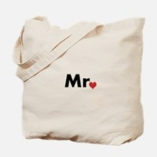 Mr and Mrs matching hats Tote Bag